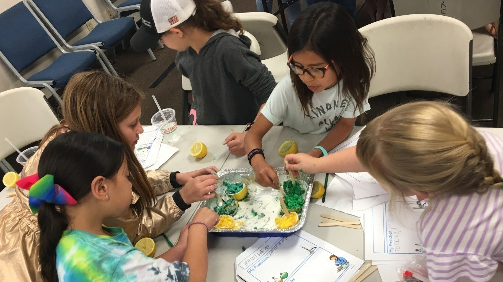 Mad Scientist Day Camp