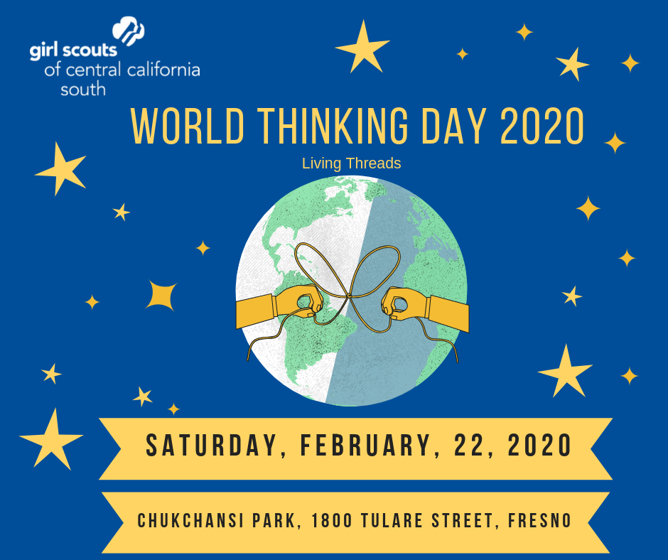 Facebook post World Thinking Day (Theme Living Thread)